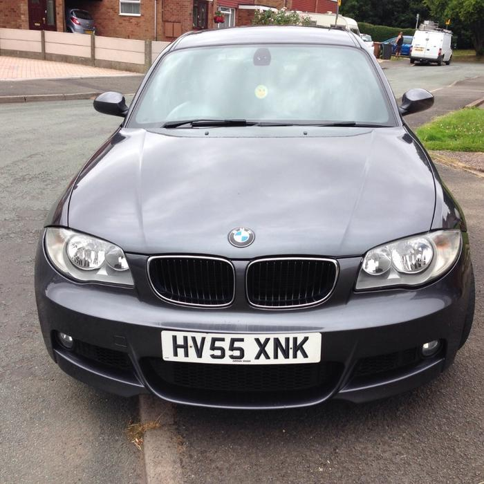 bmw 1 series 118d m sports 2006 55 plate 2495 ono walsall dudley. Black Bedroom Furniture Sets. Home Design Ideas