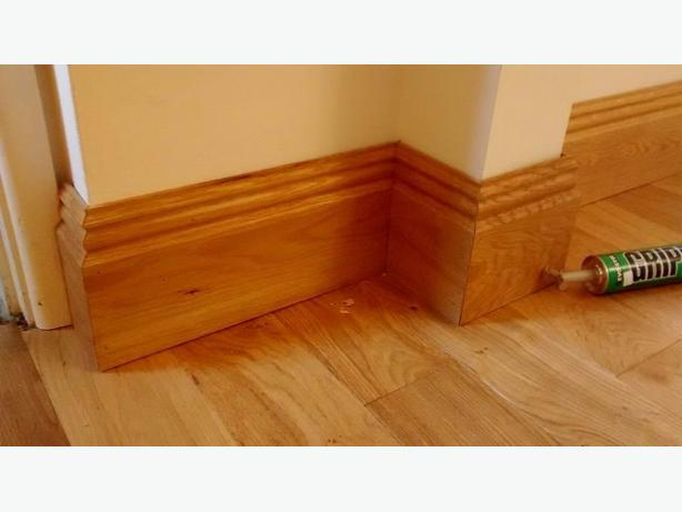 BRAND NEW SOLID OAK SKIRTING