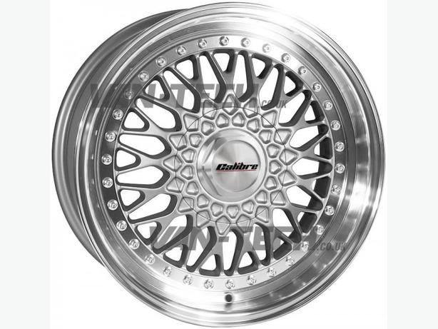 Calibre Vintage 18″ Silver Alloy Wheels for VW Transporter T4