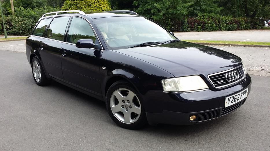 Audi A6 2 5 Tdi Quattro Sport 4x4 Estate 2001 Y Reg 159000 Miles 2 Owners Outside Black