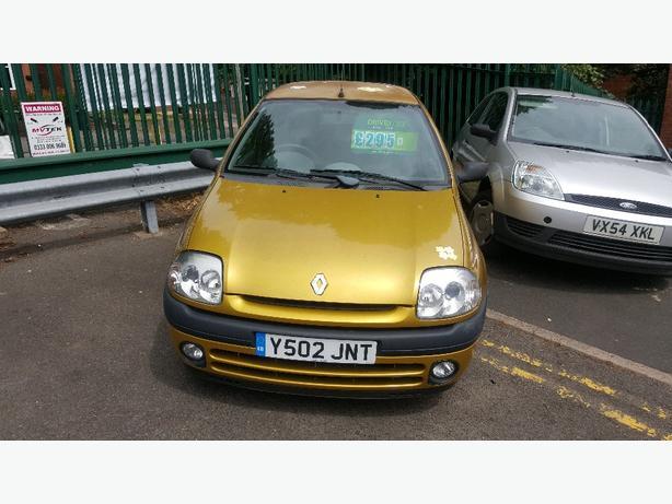 Renault CLIO. 1.2, MOT FEB 2017
