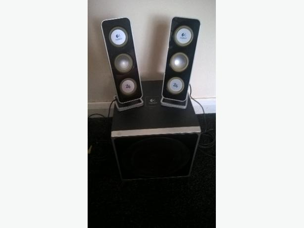 WANTED: logitech pc/tv speakers /bassbox