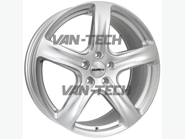 Calibre Tourer 20″ Alloy Wheels Silver VW T5 Van