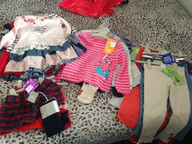 Age 3 to 4 brand new all with tags next clothes