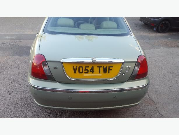 54 rover 75 2.0 V6 se luxury car