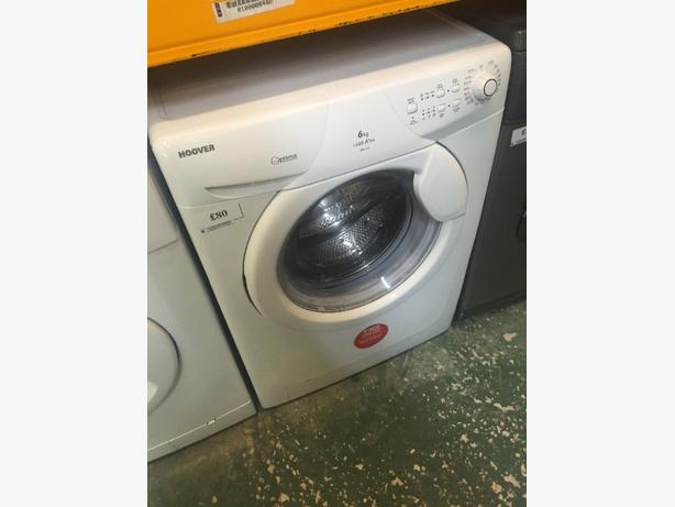🔎☀️hoover 6kg A➕AA washer free delivery