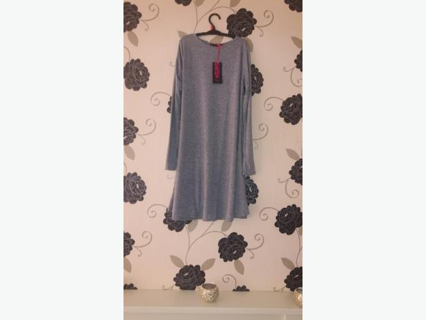 new grey swing dresses