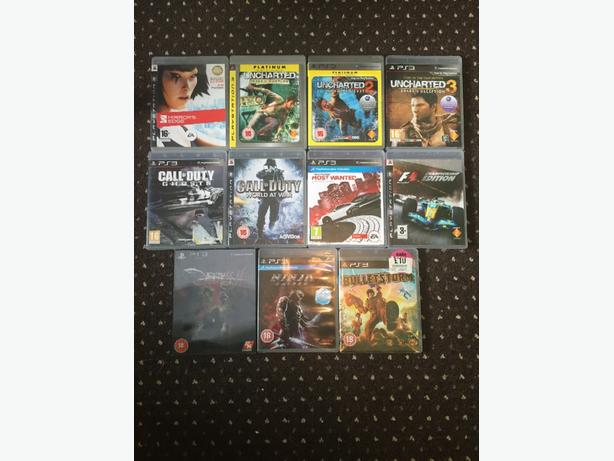 *Ps3 game bundle 11 games*