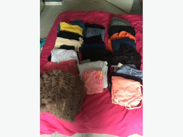 bundle of womens clothes size 10-12