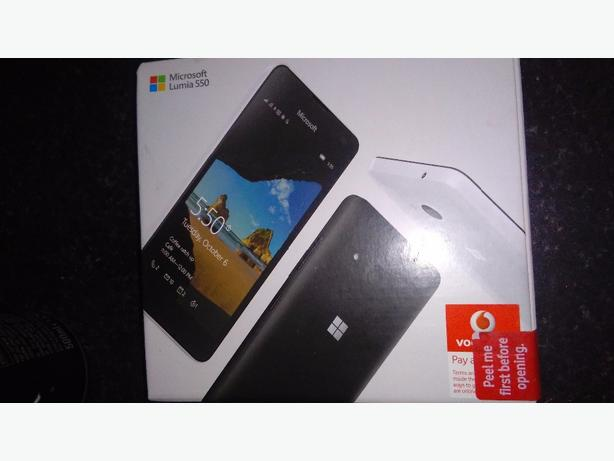 lumia 550 brand new and sealed