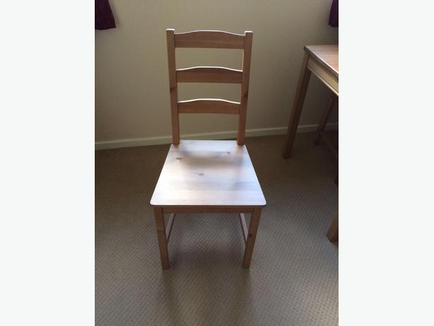 Wooden Four seater IKEA Dining room table