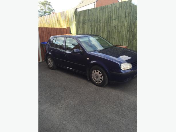 VW Golf X Reg 74k miles