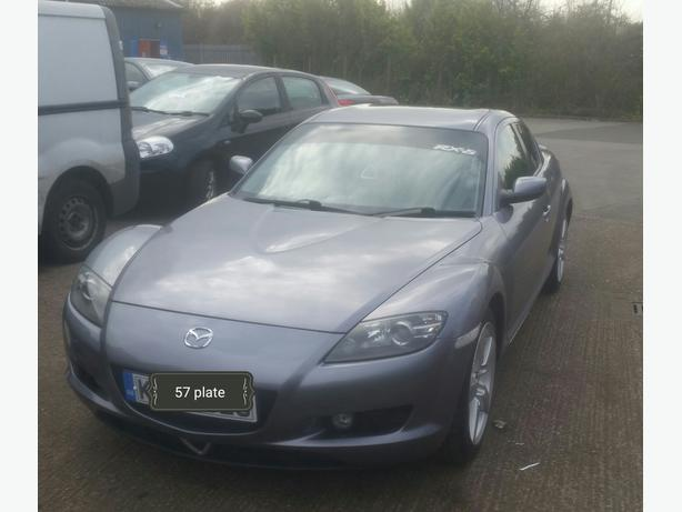Breaking mazda rx8 no engine though