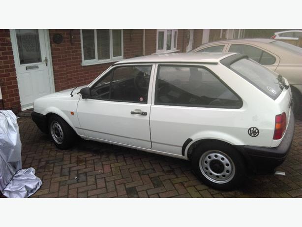 VW polo 1991 white