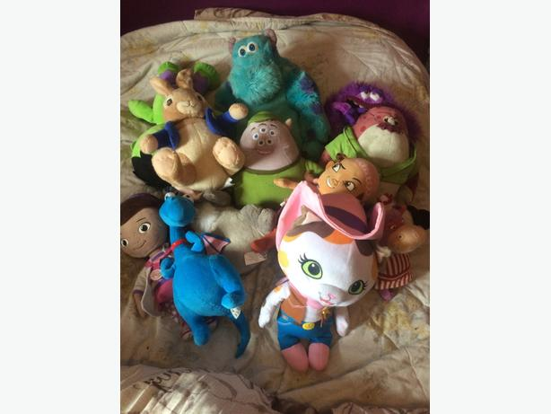 stuffed toy bundle