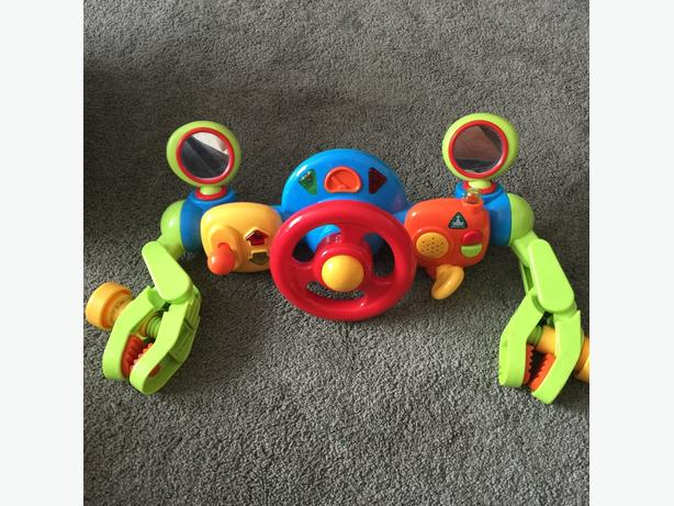 elc pushchair toy