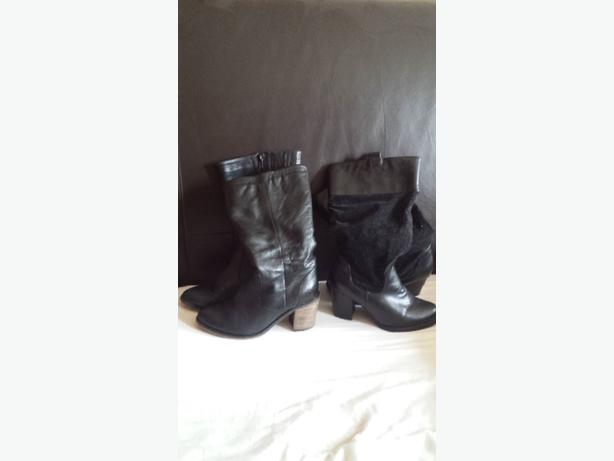 2 PAIRS OF EVANS BOOTS