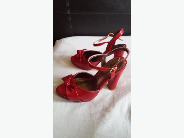 BRAND NEW  RED PATENT SHOES