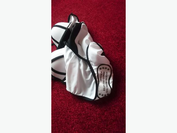 black and white size 12 sqimming costume