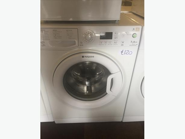 £120 7 KG HOTPOINT WASHING MACHINE WITH GUARANTEE