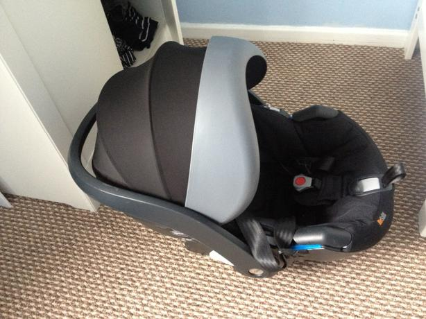be safe Izzy Go car seat