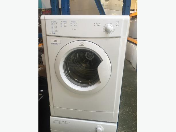 🔷🔷indesit dryer 7kg free delivery