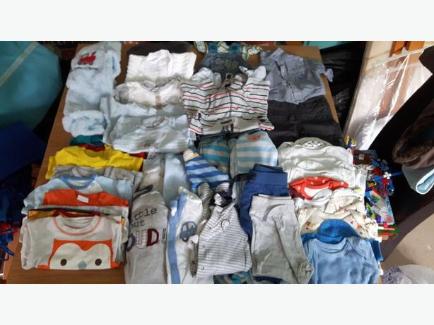 0-3 baby boys clothes