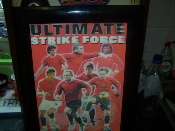 Manchester United Ultimate Strikeforce Picture Frame