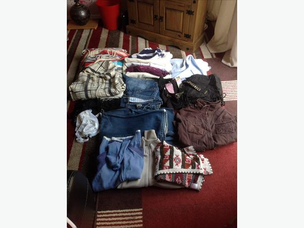 Job lot assorted ladies clothes sizes 8/14