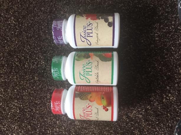 juice plus capsules 1 month supply new and sealed