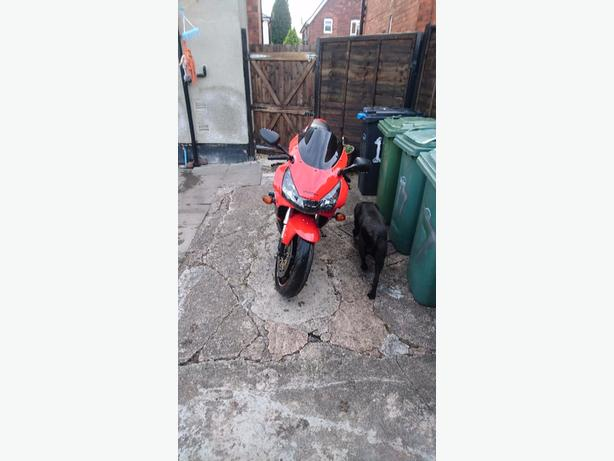 FOR TRADE: 954 Honda fire blade
