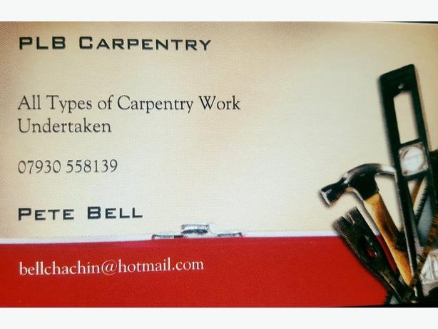 PLB Carpentry