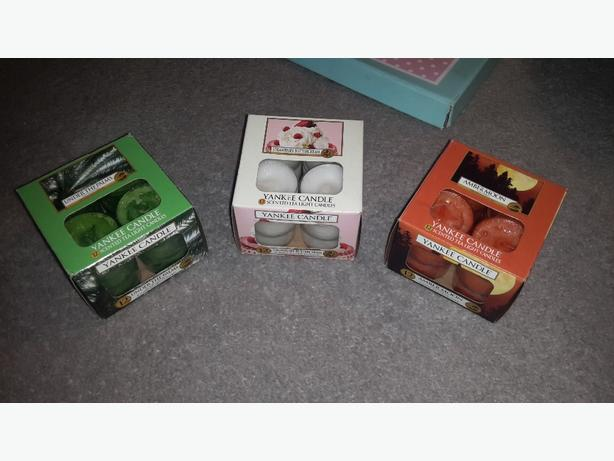 yankee candle tealights £5 each