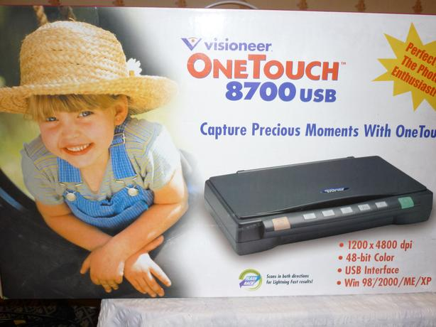 visioneer onetuch scanner