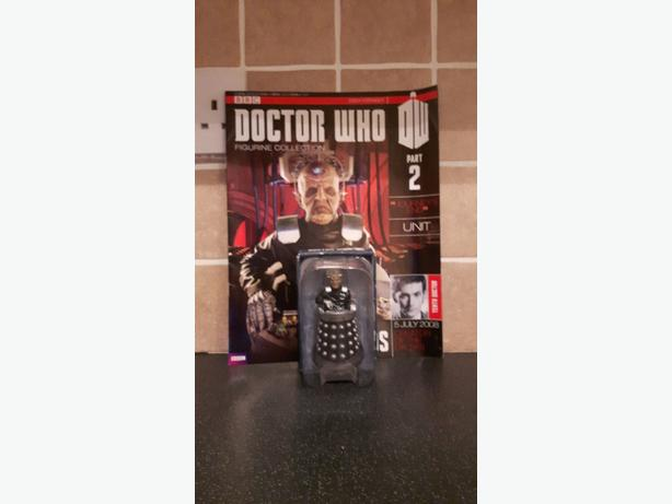 issue 2 Dr who figurine collection