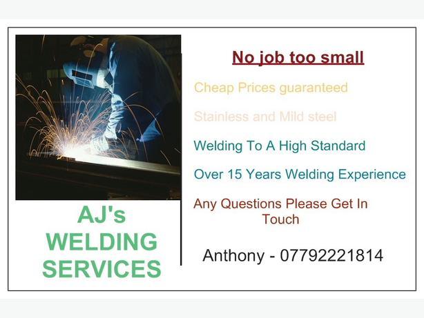 FOR TRADE: AJ mobile welding