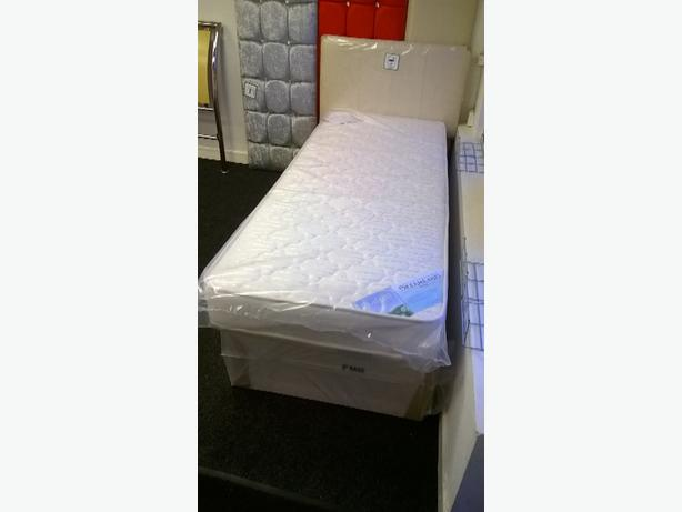 SINGLE QUALITY QUILTED BED