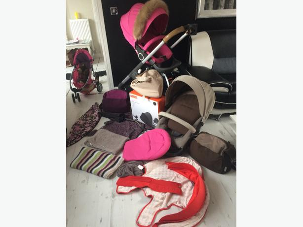 stokke crusi all extras everything in pic