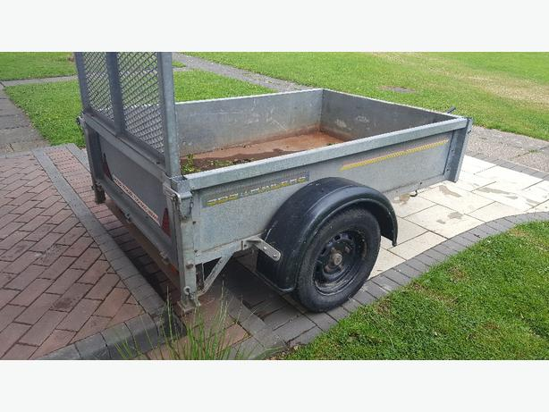 SBS galvanised trailer