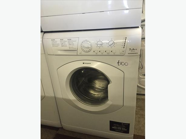 REDUCED TO £95 HOTPOINT WASHING MACHINE 7 KG WITH GUARANTEE