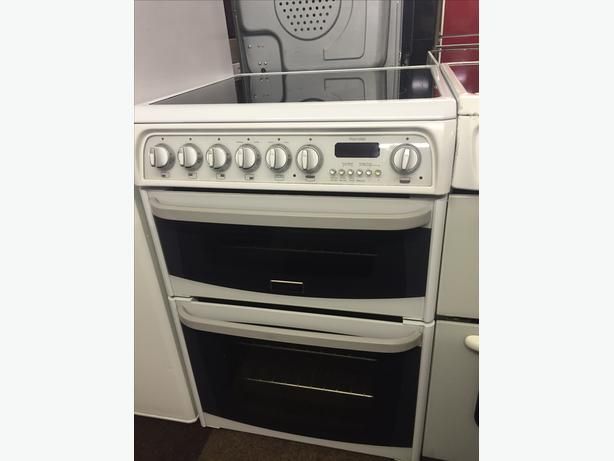 CANNON WHITE 60 CM WIDE ELECTRIC COOKER WITH GUARANTEE