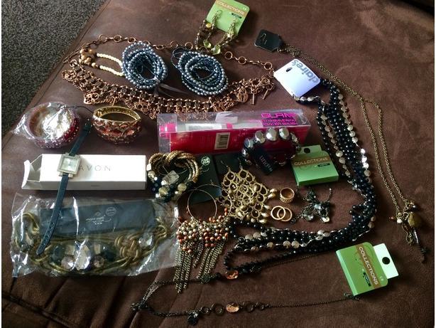 Brand New Ladies Jewellery with mini suitcase