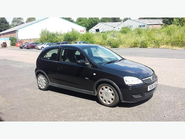 2006 vauxhall corsa 1.3 cdti black 3 door