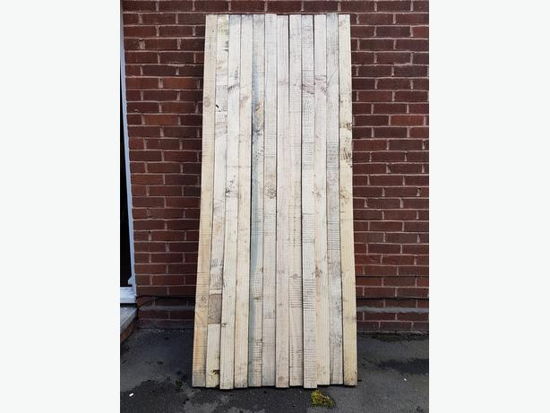 12 7FT X 3 X 3 stumps back up for sale due to time waster