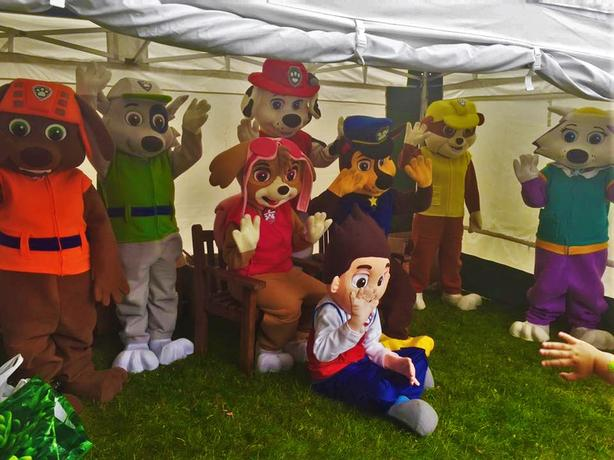 MASCOT COSTUMES/FANCY DRESS FOR SALE paw patrol + more collect today