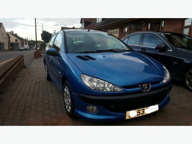 Peugeot 206 1.4 2003 Leather Low Mileage 12 Months Mot