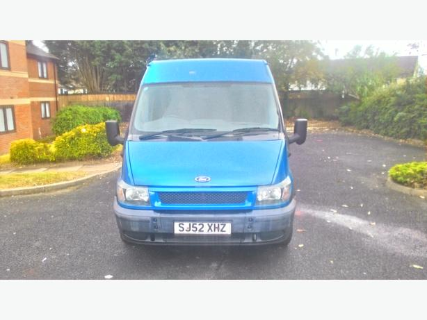 ford transit 12 mot low miles electric windows mirrors