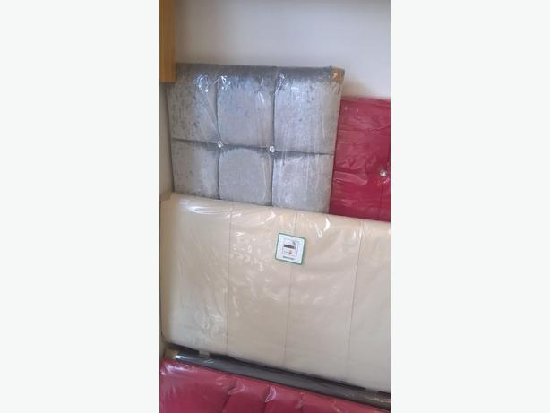quality headboards high back leather £20