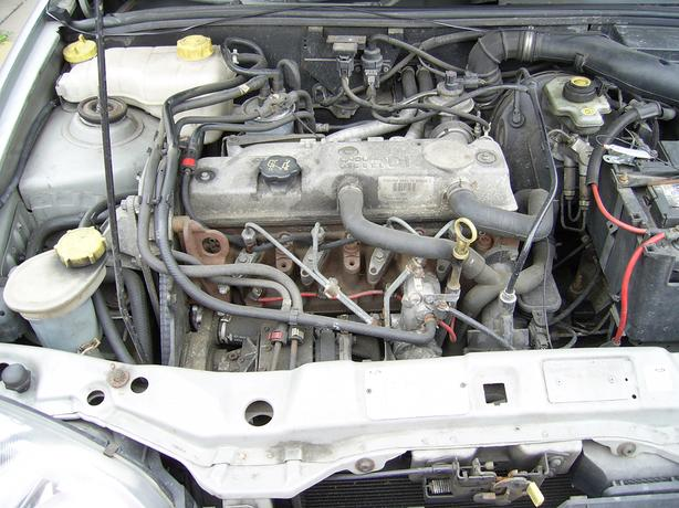 FIESTA 1,8 TD ENGINE