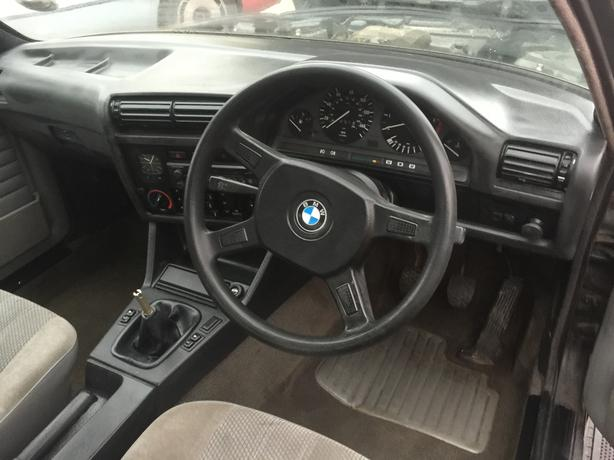 BMW e30 316 I COUPE  GREY 1 OWNER FRON NEW CLASSICS CAR NOW
